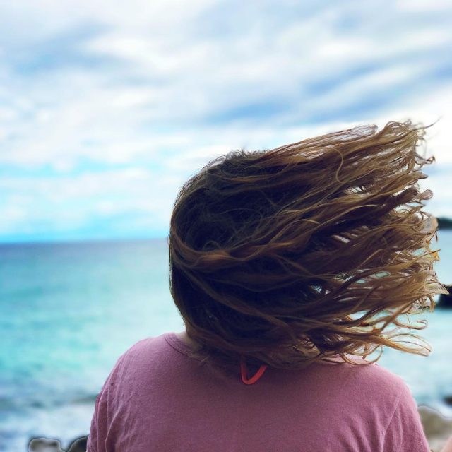 Sandy feet and salty hair sealover beachlover beachhair saltyhair hairfliphellip
