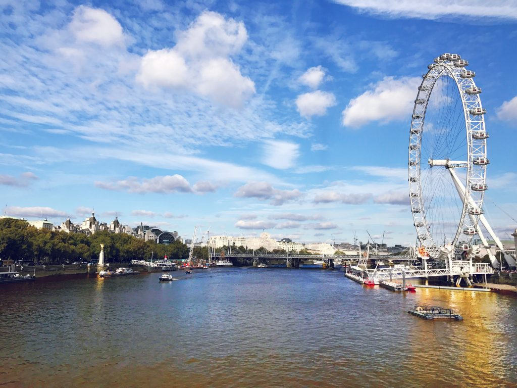 Travel Blog London Eye
