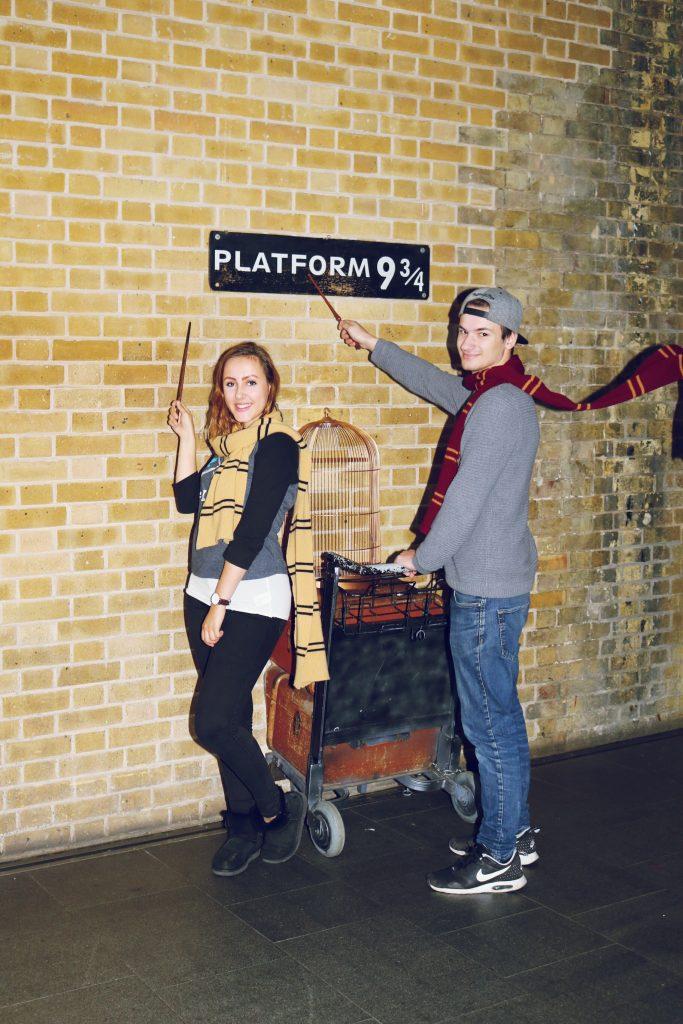Die schönsten Eindrücke Travel Blog Harry Potter Gleis 9 3/4
