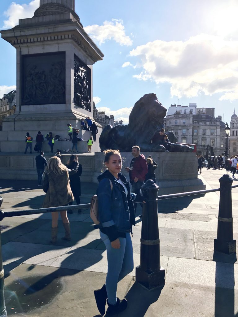 Travel Blog Trafalgar Square