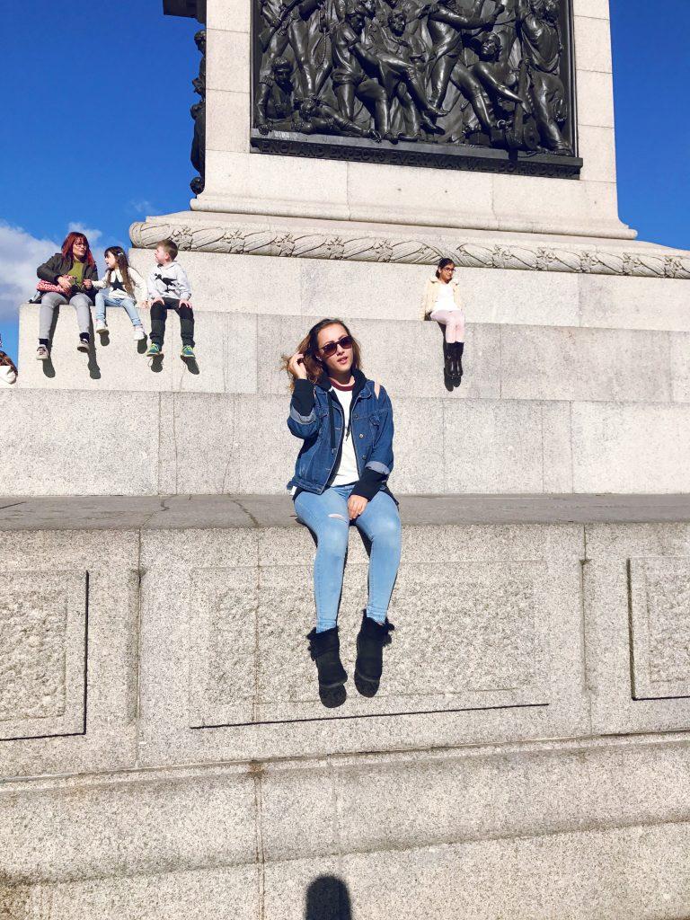 Travel Blog Trafalgar Square