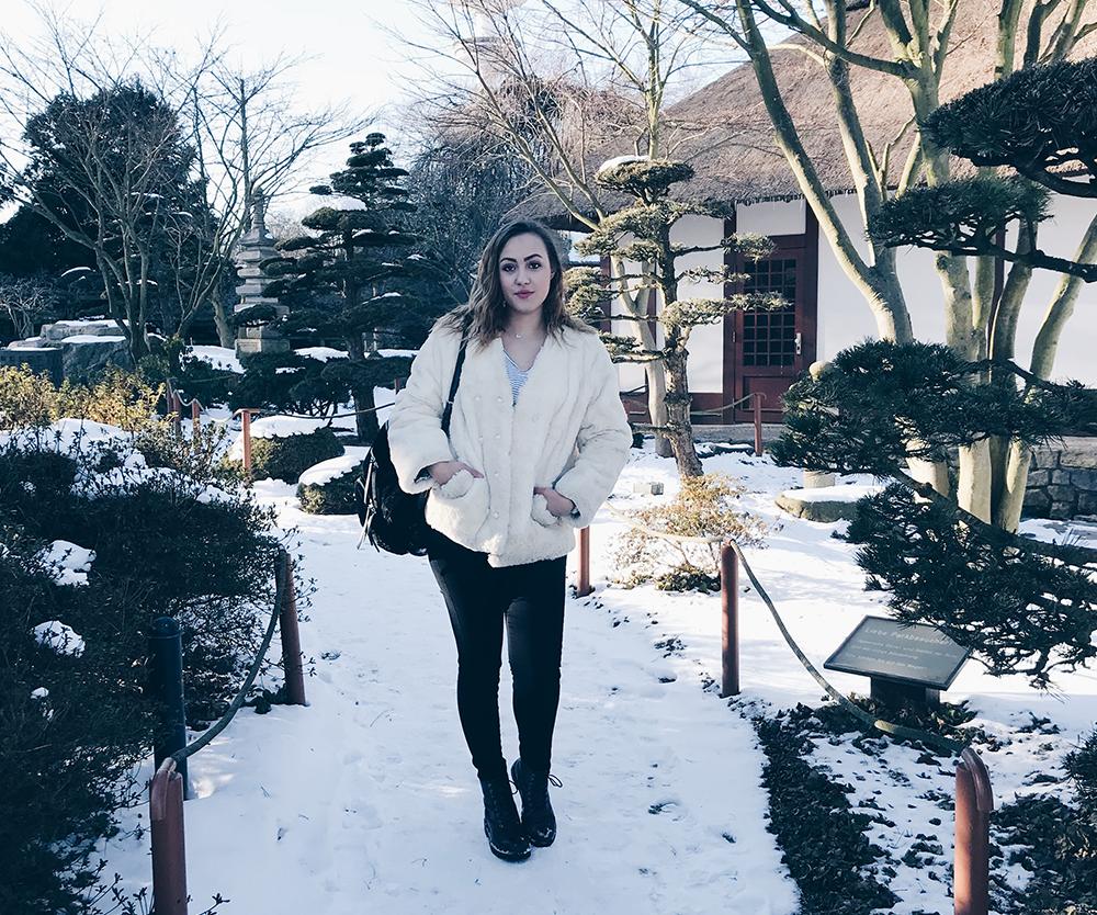 kuschelige Teddyjacke - das Statementpiece im Winter Fashion Blog aus Hamburg